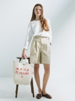 3 Way Canvas Bag [Ivory]